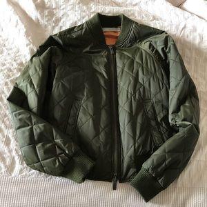 NWT vince bomber jacket